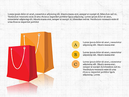 Shopping Infographics, Slide 4, 03867, Infographics — PoweredTemplate.com
