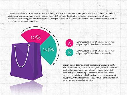 Shopping Infographics, Slide 6, 03867, Infographics — PoweredTemplate.com