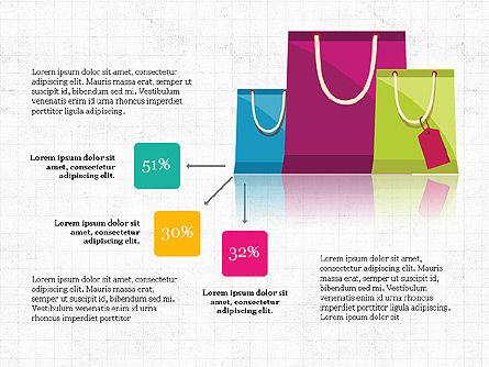 Shopping Infographics, Slide 8, 03867, Infographics — PoweredTemplate.com