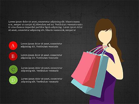 Shopping Infographics, Slide 9, 03867, Infographics — PoweredTemplate.com