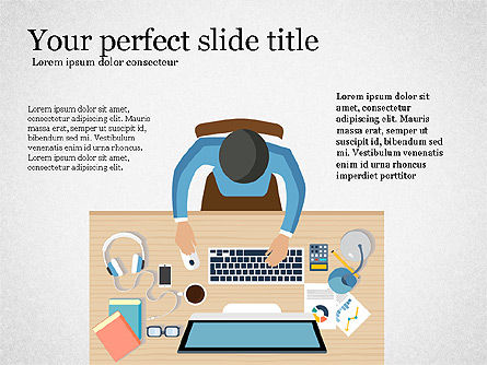 Illustrative Presentation Concept, Slide 3, 03868, Presentation Templates — PoweredTemplate.com