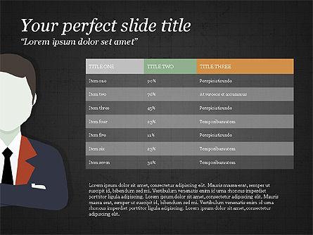 Project Team Presentation Concept, Slide 10, 03871, Presentation Templates — PoweredTemplate.com