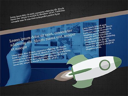 Project Team Presentation Concept, Slide 12, 03871, Presentation Templates — PoweredTemplate.com