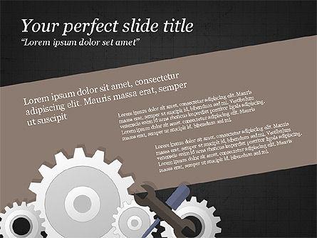 Project Team Presentation Concept, Slide 15, 03871, Presentation Templates — PoweredTemplate.com