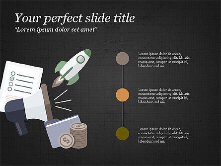 Project Team Presentation Concept, Slide 16, 03871, Presentation Templates — PoweredTemplate.com