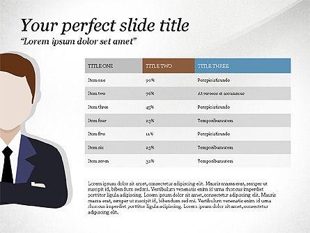 Project Team Presentation Concept, Slide 2, 03871, Presentation Templates — PoweredTemplate.com