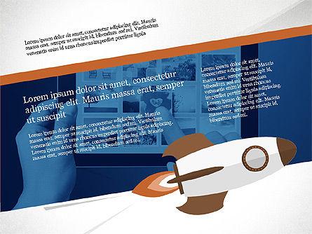 Project Team Presentation Concept, Slide 4, 03871, Presentation Templates — PoweredTemplate.com