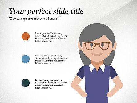 Project Team Presentation Concept, Slide 5, 03871, Presentation Templates — PoweredTemplate.com