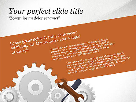Project Team Presentation Concept, Slide 7, 03871, Presentation Templates — PoweredTemplate.com