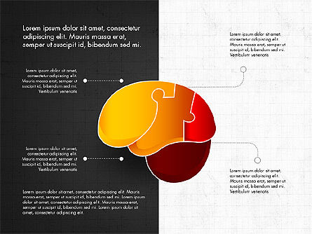 Infographic Shapes Collection, Slide 12, 03872, Infographics — PoweredTemplate.com
