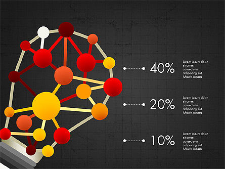Infographic Shapes Collection, Slide 13, 03872, Infographics — PoweredTemplate.com