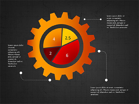 Infographic Shapes Collection, Slide 14, 03872, Infographics — PoweredTemplate.com
