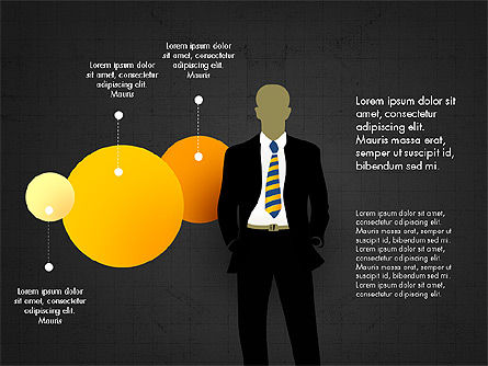 Infographic Shapes Collection, Slide 15, 03872, Infographics — PoweredTemplate.com