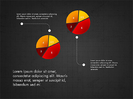 Infographic Shapes Collection, Slide 16, 03872, Infographics — PoweredTemplate.com