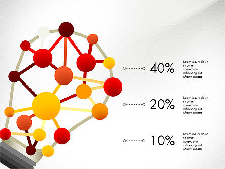 Infographic Shapes Collection, Slide 5, 03872, Infographics — PoweredTemplate.com