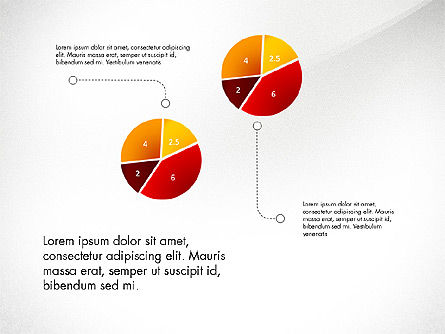 Infographic Shapes Collection, Slide 8, 03872, Infographics — PoweredTemplate.com