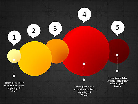 Infographic Shapes Collection, Slide 9, 03872, Infographics — PoweredTemplate.com