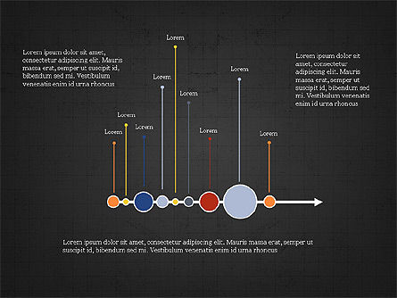 Timeline Presentation Template, Slide 9, 03875, Timelines & Calendars — PoweredTemplate.com