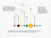 Timelines & Calendars: 타임 라인 프리젠 테이션 템플릿 #03875