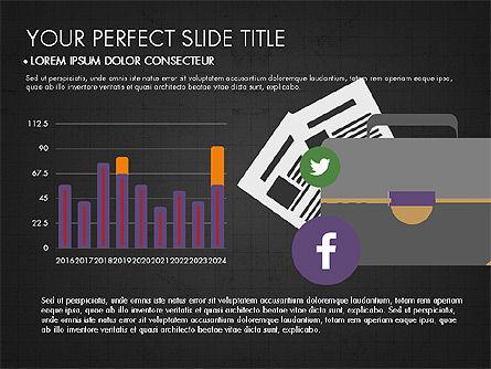 Presentation on Social Media, Slide 13, 03876, Presentation Templates — PoweredTemplate.com