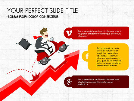 Presentation on Social Media, Slide 2, 03876, Presentation Templates — PoweredTemplate.com