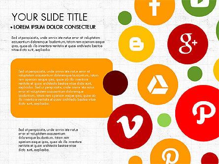 Presentation on Social Media, Slide 3, 03876, Presentation Templates — PoweredTemplate.com