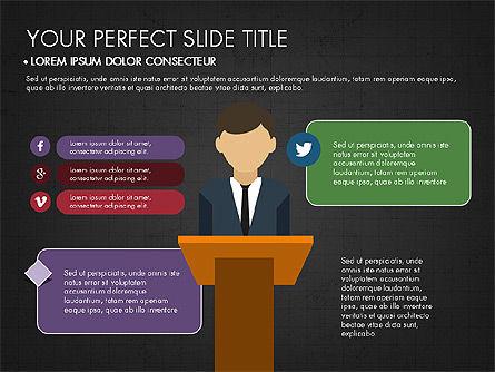 Presentation on Social Media, Slide 9, 03876, Presentation Templates — PoweredTemplate.com