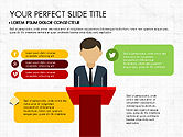 Presentation Templates: Presentation on Social Media #03876