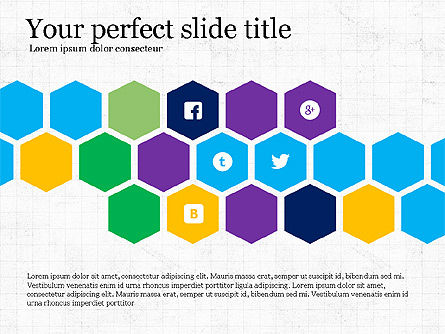 Presentation Templates: Social Networking Presentation Concept #03877