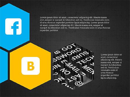 Social Networking Presentation Concept, Slide 12, 03877, Presentation Templates — PoweredTemplate.com