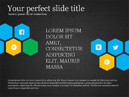 Social Networking Presentation Concept, Slide 15, 03877, Presentation Templates — PoweredTemplate.com