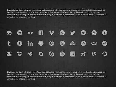 Social Networking Presentation Concept, Slide 16, 03877, Presentation Templates — PoweredTemplate.com