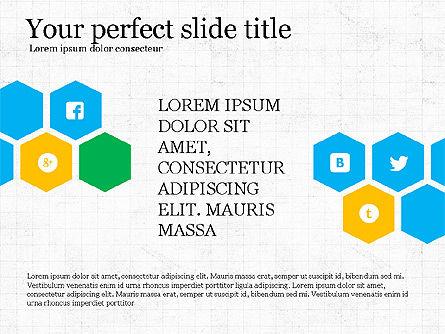 Social Networking Presentation Concept, Slide 7, 03877, Presentation Templates — PoweredTemplate.com