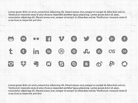 Social Networking Presentation Concept, Slide 8, 03877, Presentation Templates — PoweredTemplate.com