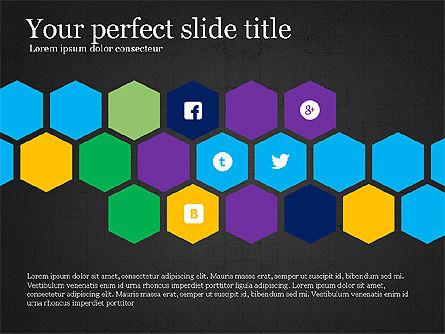 Social Networking Presentation Concept, Slide 9, 03877, Presentation Templates — PoweredTemplate.com