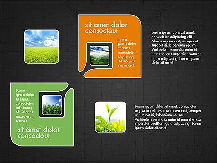 Ecology Process Presentation Concept, Slide 10, 03878, Process Diagrams — PoweredTemplate.com