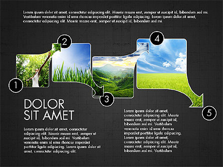 Ecology Process Presentation Concept, Slide 11, 03878, Process Diagrams — PoweredTemplate.com