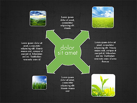 Ecology Process Presentation Concept, Slide 12, 03878, Process Diagrams — PoweredTemplate.com
