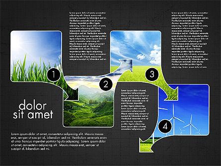 Ecology Process Presentation Concept, Slide 13, 03878, Process Diagrams — PoweredTemplate.com