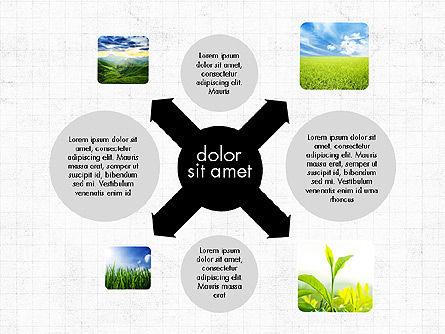 Ecology Process Presentation Concept, Slide 4, 03878, Process Diagrams — PoweredTemplate.com
