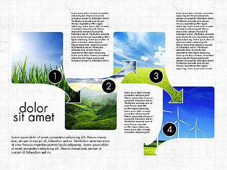 Ecology Process Presentation Concept, Slide 5, 03878, Process Diagrams — PoweredTemplate.com
