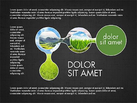 Ecology Process Presentation Concept, Slide 9, 03878, Process Diagrams — PoweredTemplate.com