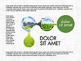 Process Diagrams: Concept de présentation du processus d'écologie #03878