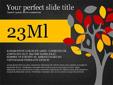 Conscious Consumption Presentation Infographic, Slide 11, 03879, Presentation Templates — PoweredTemplate.com