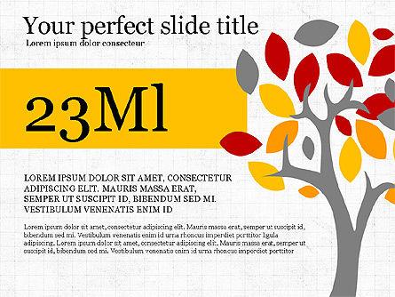 Conscious Consumption Presentation Infographic, Slide 3, 03879, Presentation Templates — PoweredTemplate.com