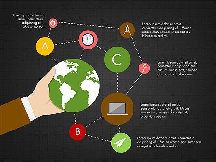 Infographic Slides Deck, Slide 13, 03880, Infographics — PoweredTemplate.com