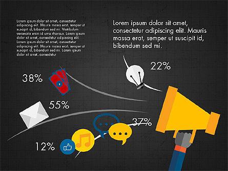 Infographic Slides Deck, Slide 9, 03880, Infographics — PoweredTemplate.com