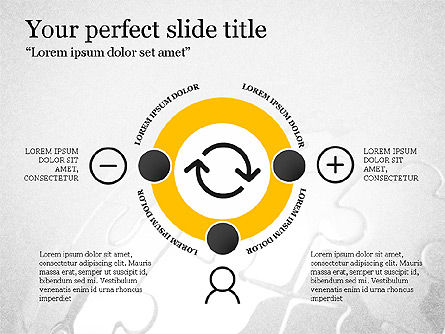 Presentation Templates: Trendy Thin Lines Presentation Template #03882