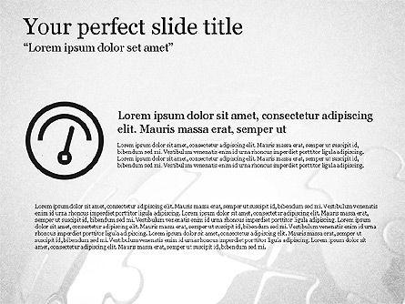 Trendy Thin Lines Presentation Template, Slide 3, 03882, Presentation Templates — PoweredTemplate.com