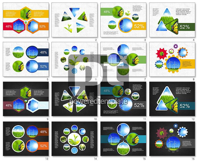 Energia presentazione alternativa concetto